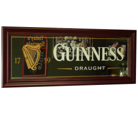 Guinness Cooler Bar Mirror