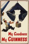 Guinness Steam Shovel Poster