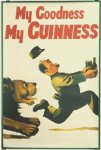 Guinness Lion Poster