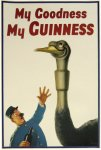 Guinness Ostrich Poster