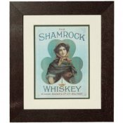 Shamrock Irish Whiskey Print