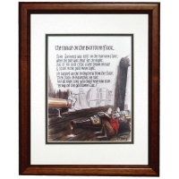 Guinness Mouse Framed Print
