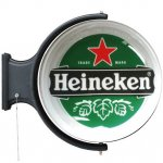 Heineken Rotating Pub Light