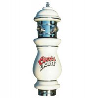 Coors Light Ceramic Beer Tower