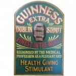 Guinness Extra Stout Pub Sign