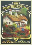 Thatched Cottage Pub Sign