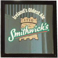 Smithwicks Medium Pub Mirror