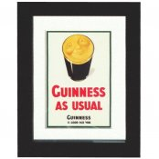 Guinness Smiling Pint Print
