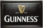 Guinness Harp Pub Sign