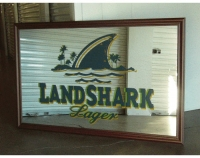 Land Shark Bar Mirror