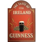 Guinness Taste of Ireland pub sign