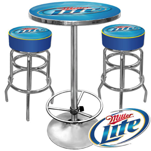 Miller Lite Bar Stool The Pub Shoppe