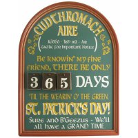 Irish Countdown Sign #845