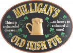 Old Irish Pub Oval #4134