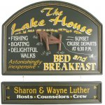 Lake House Personalized Sign #2226