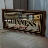 Guinness Classic Back Bar Mirror