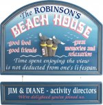 Beach House Personalized Sign #2270