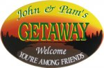 Getaway Personalized sign #2273