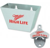 Miller High Life opener and catcher