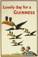 RAF Guinness Poster