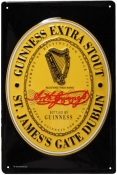 Guinness label sign G39