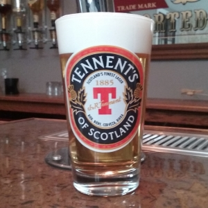 Tennents Lager Pint