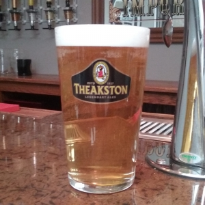 Theakston's Legendary Ale Glass