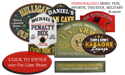 Personalized Bar Signs Custom Bar Signs