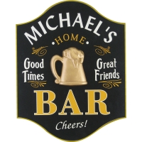 Home Bar Personalized Sign #4496