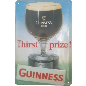 Guinness Thirst Metal Sign G900
