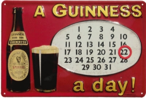 A Guinness a Day #G56