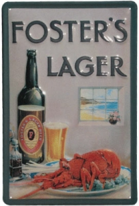 Foster Lobster Sign